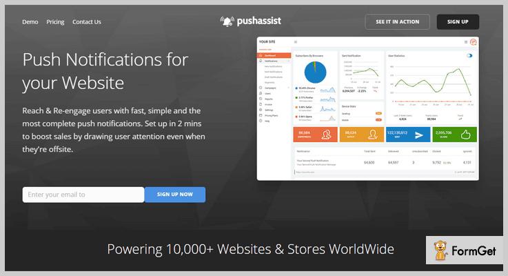 PushAssist WordPress Push Notification Plugin