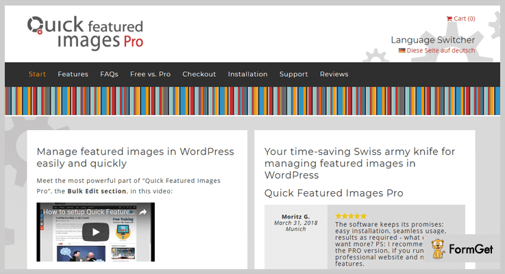 Quick Featured Images Pro Featured Image WordPress Plugin