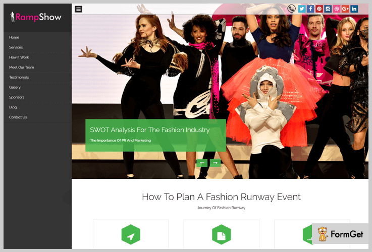 RampShow Fashion WordPress Themes