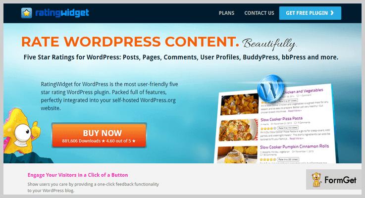 Rating Widget Rating WordPress Plugin