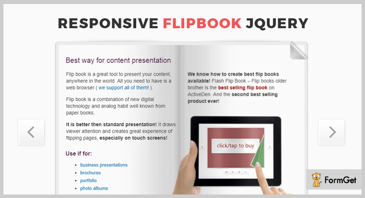 Responsive FlipBook jQuery FlipBook Plugin