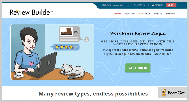 Review & Product Review Product Review WordPress Plugin