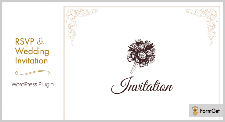 RSVP Wedding Invitation WordPress Wedding Plugins
