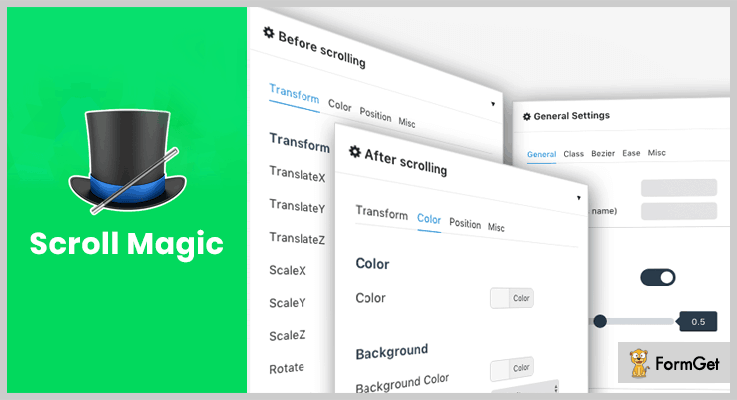 Scroll Magic Animation WordPress Plugin