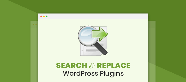 Search And Replace WordPress Plugins