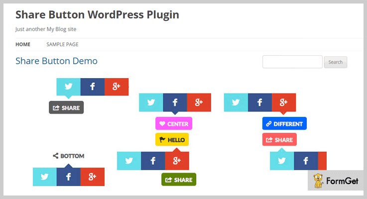 Share Buttons Button WordPress Plugins