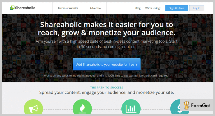 Shareaholic Monetize WordPress Plugin