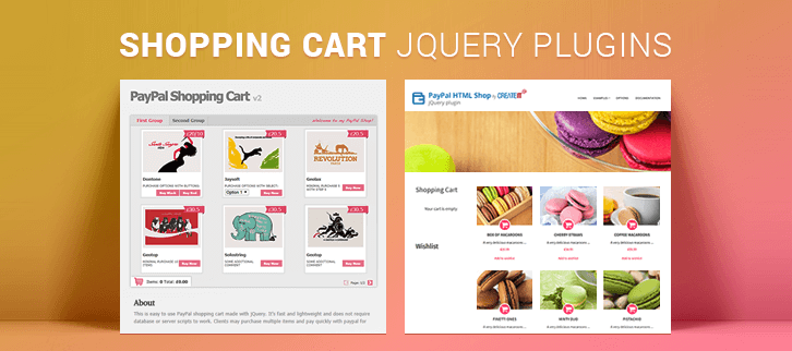 Shopping Cart jQuery Plugins