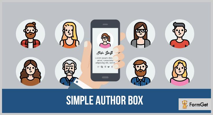 Simple Author Box Author Profile WordPress Plugin