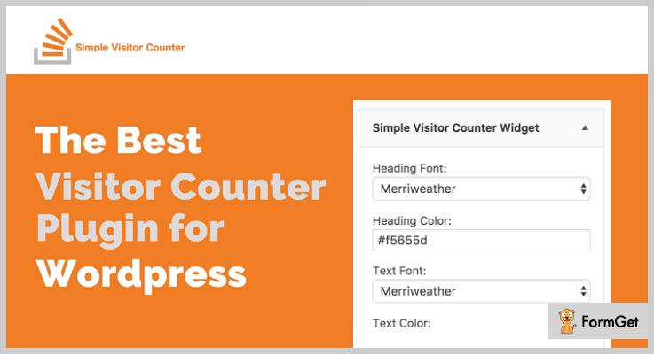 Simple Visitor Counter WordPress Plugins