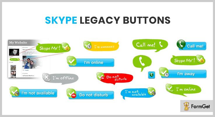 Skype Legacy Buttons WordPress Skype Plugins
