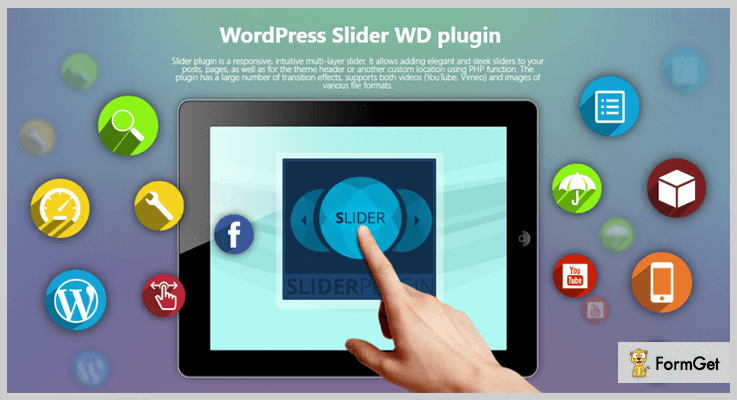 Slider by WD Youtube Video Slider WordPress Plugins