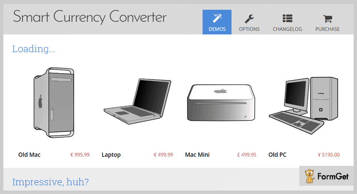 Smart Currency Converter jQuery Pluginss