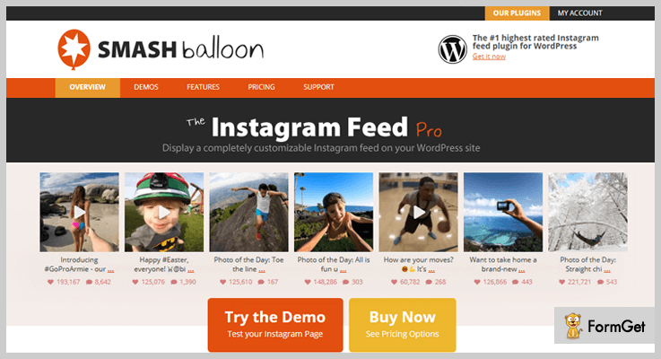 Instagram Feed WordPess Plugin