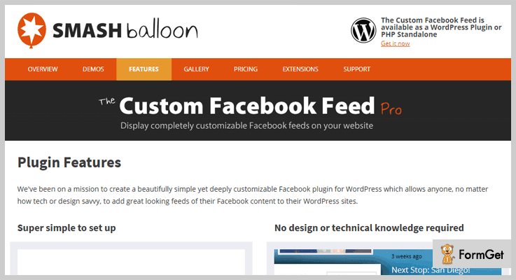 The Custom Facebook Feed Pro Facebook Feed WordPress Plugins