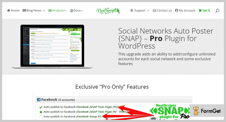 SNAP PRO WordPress Post Share Plugin