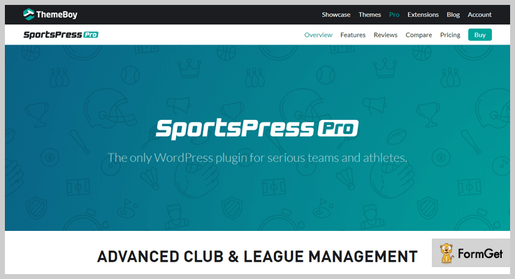 SportsPress Pro WordPress Sports Plugins