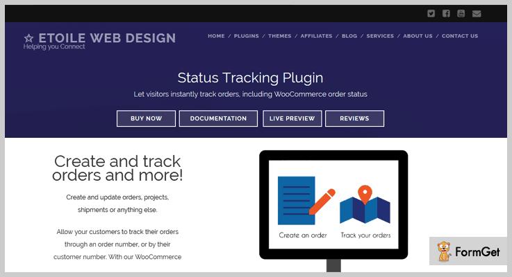 Status Tracking Order Tracking WordPress Plugin