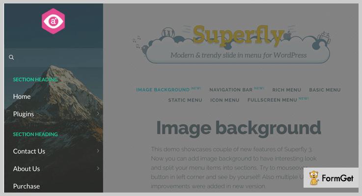 Superfly Responsive WordPress Menu Plugin Mobile Menu WordPress Plugin