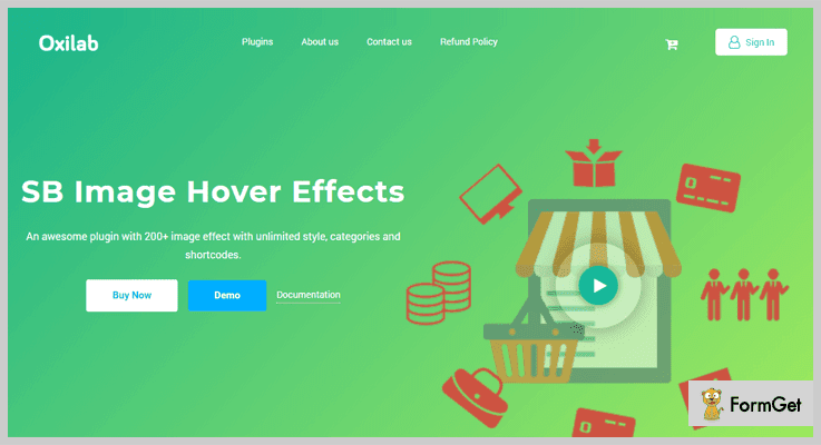 SB Image Hover Effects Hover Effect WordPress Plugin