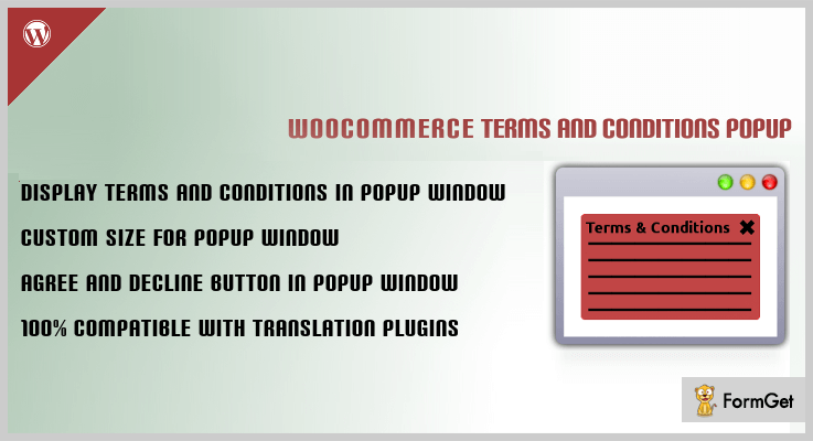 Terms and Conditions Popup for WooCommerce WordPress Terms And Conditions Plugin