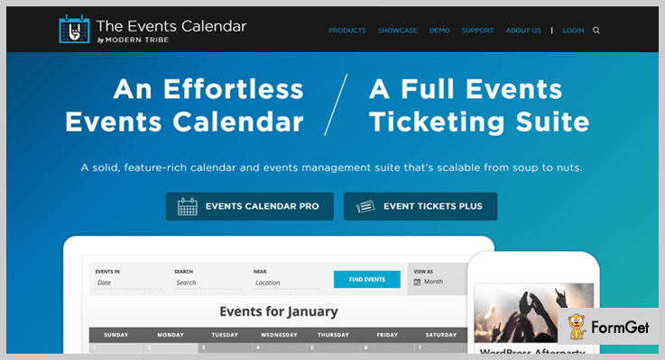 The Event Calendar Event Calendar WordPress Plugin