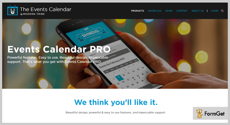 Events Calendar PRO Calendar WordPress Plugins