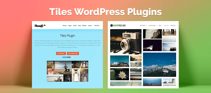 Tiles WordPress Plugins