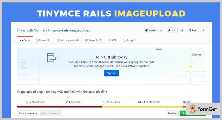 Tinymce Rails Imageupload jQuery Plugin