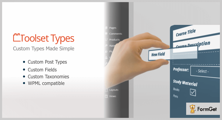 Toolset Types Custom Post Types WordPress Plugin