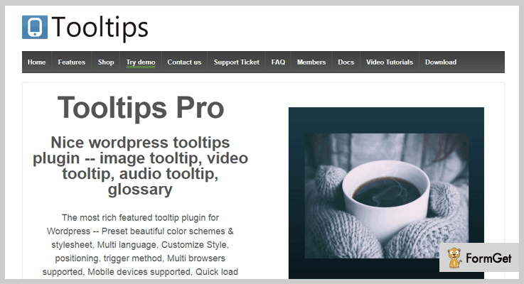 Tooltips Pro Tooltip WordPress Plugin