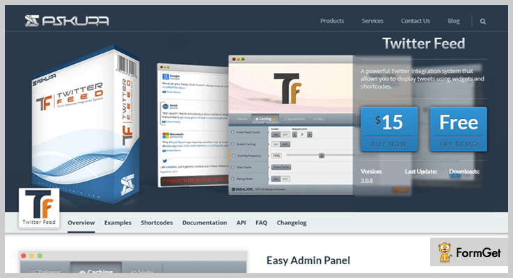 Twitter Feed WordPress Twitter Feed Plugins
