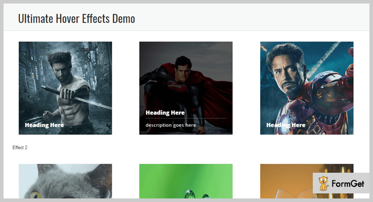 Ultimate Hover Effects Hover Effect WordPress Plugin
