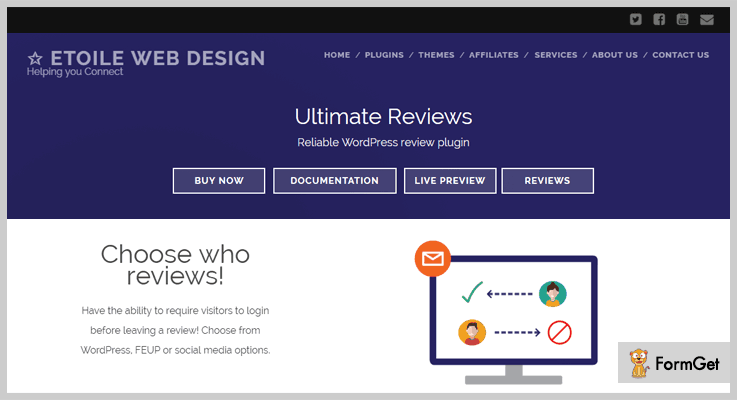 Ultimate Reviews Product Review WordPress Plugin