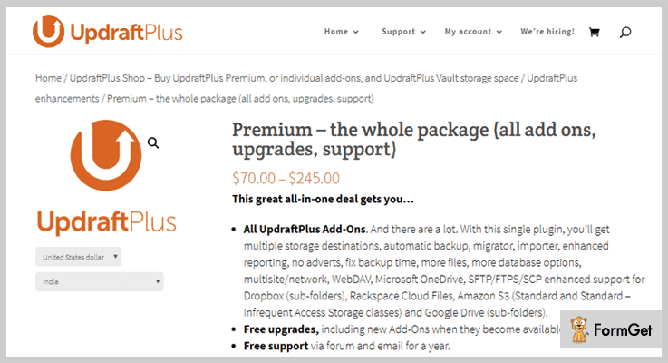 UpdraftPlus WordPress Backup Must Have WordPress Plugins