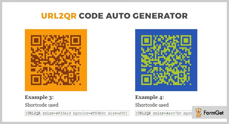 URL2QR CodeCode Generator WordPress Plugin