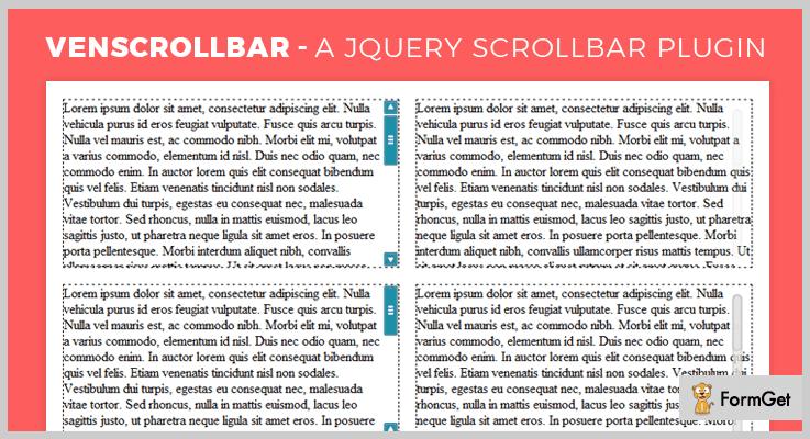 VenScrollBar jQuery ScrollBar Plugin