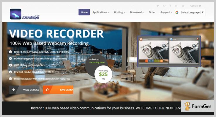 Video Post Webcam Recorder WordPress Video Post Plugin