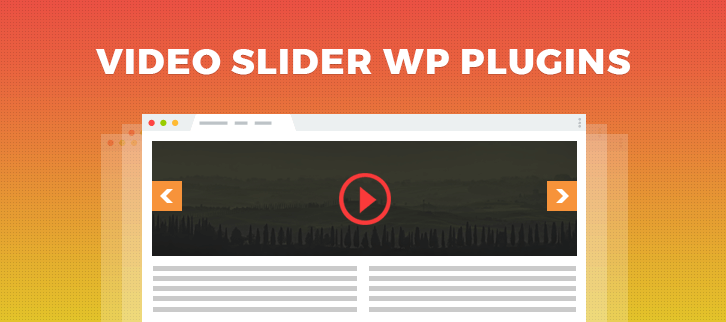 Video Slider WordPress Plugins