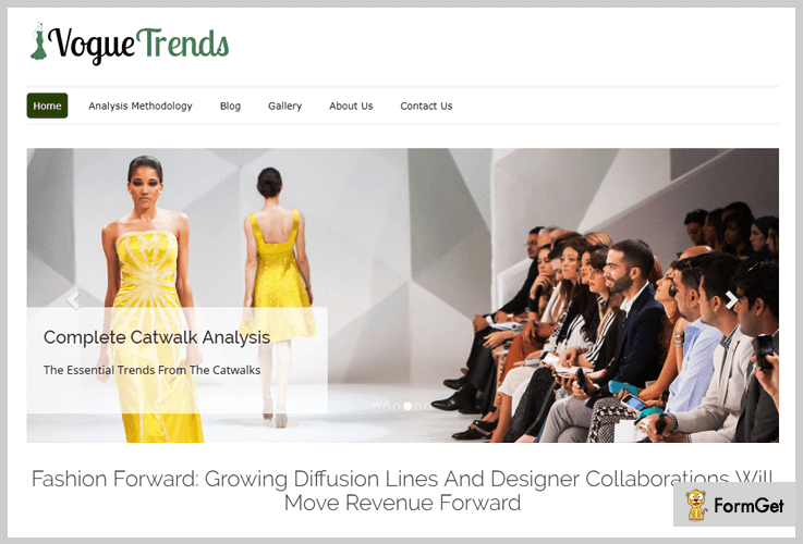 Vouge Trends Fashion WordPress Themes
