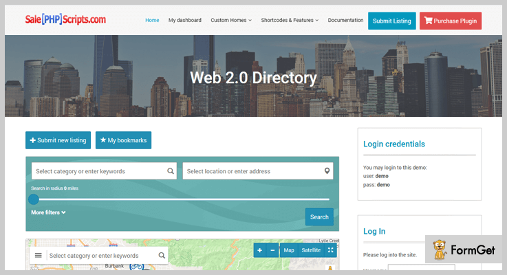 Web 2.0 Directory Classifieds WordPress Plugins
