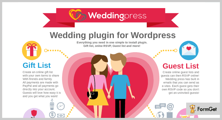 WeddingPress RSVP WordPress Plugins
