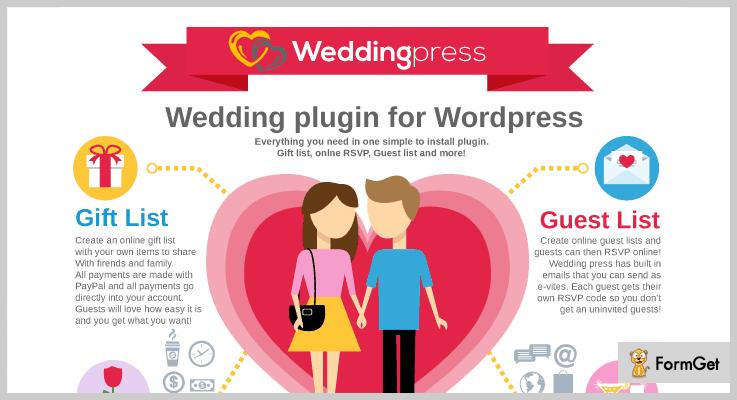 Wedding Press WordPress Wedding Plugins