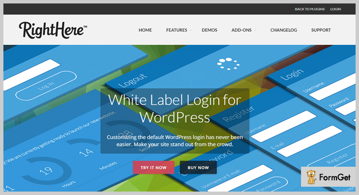 White Label Login White Label WordPress Plugin