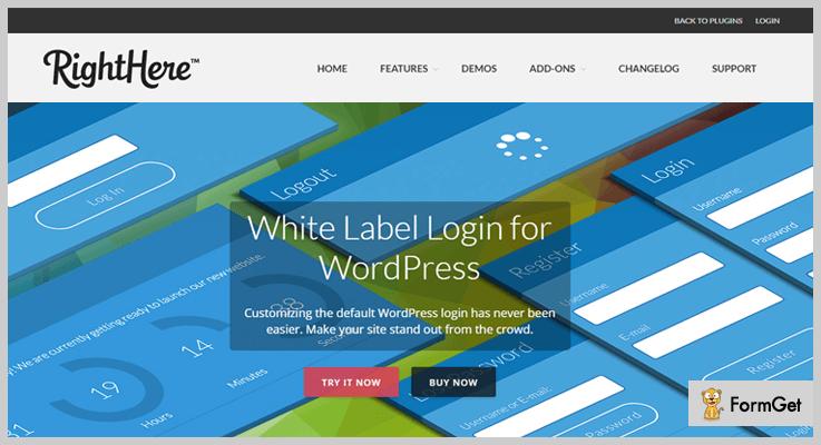 White Label Login White Label WordPress Plugin