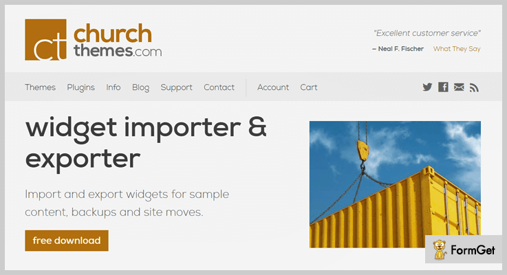 Widget Importer Exporter Import Export WordPress Plugin
