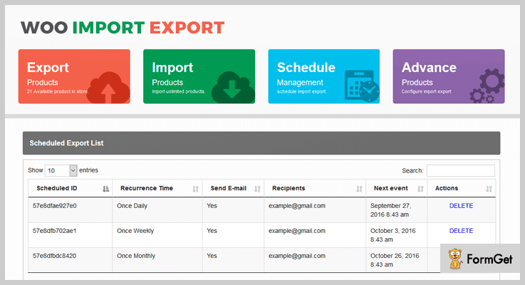 Woo Import Export Import Export WordPress Plugin