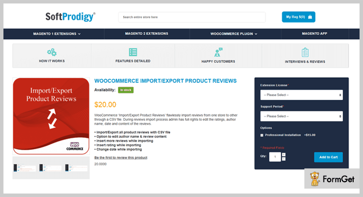 WooCommerce Import Export Product Review Import Export WordPress Plugin