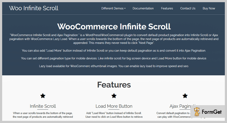 WooCommerce Infinite Scroll Pagination WordPress Plugin