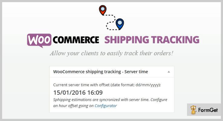 WooCommerce Shipping Tracking Order Tracking WordPress Plugin